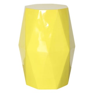 Selamat Designs Gemma Yellow Lacquer Spot Table