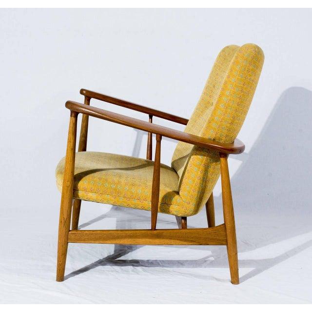 Finn Juhl Pair of Finn Juhl SW-86 Lounge Chairs For Sale - Image 4 of 10