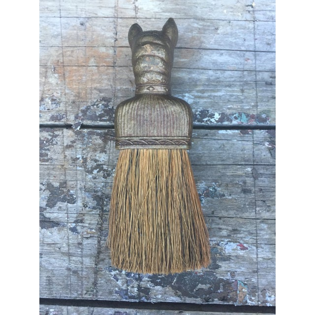 Vintage Bulldog Whisk Broom/Shoulder Brush - Image 5 of 10