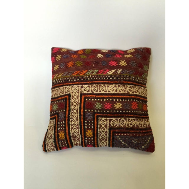 Handmade Kilim Pillow Cover - Image 2 of 6