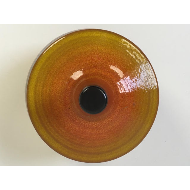 Boho Chic Mid-Century Modern Haeger Covered Pottery Dish For Sale - Image 3 of 8