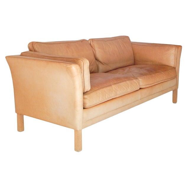 Mid-Century Modern Mid-Century Danish Sofa For Sale - Image 3 of 8