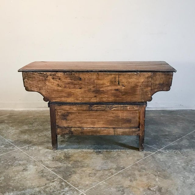 200 Year Old Directoire Period French Doughbox ~ Buffet For Sale - Image 11 of 12