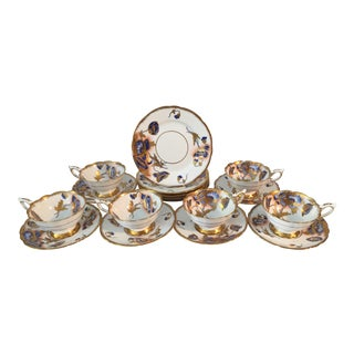 1940s Royal Stafford Tea and Dessert - Set of 12 For Sale