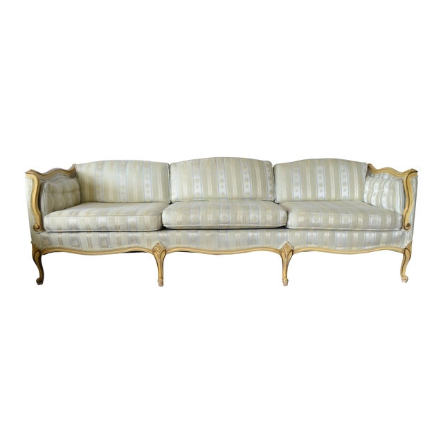 Mangurians Vintage French Provincial Sofa - Image 1 of 4