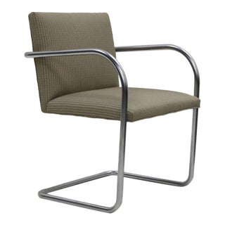 Replica Knoll Brno Tubular Side Tan Wave Chair For Sale