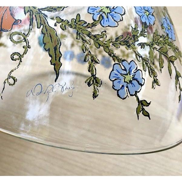 Dorthy Thrope Spring Harvest Floral Salad Bowl 5pc Set - Image 7 of 7