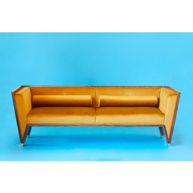 Wedge Sofa by Artist Troy Smith - Contemporary Design - Custom Furniture Hand Made / Limited Edition / With Certificate...