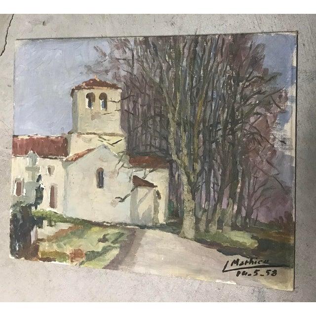 French Provincial Vintage Landscape - Image 5 of 5