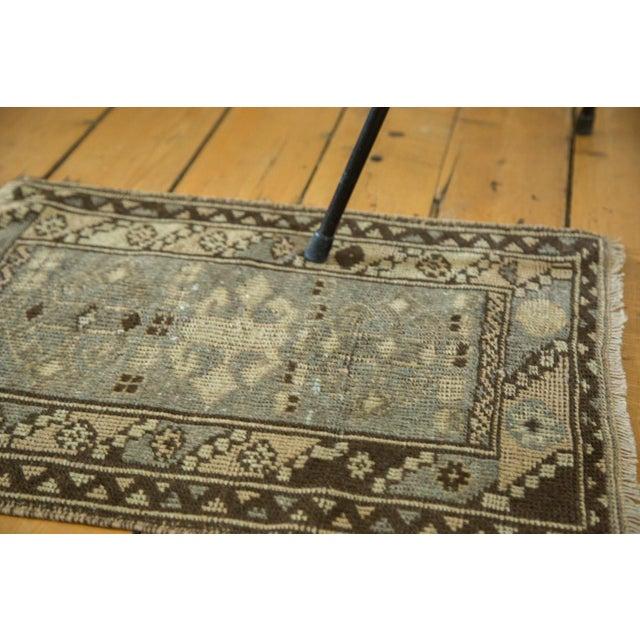 Islamic Vintage Oushak Square Rug Mat - 1′8″ × 2′ For Sale - Image 3 of 4
