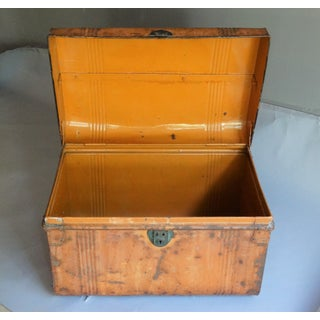 Antique English Metal Chest Preview