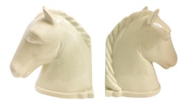 Image of Ivory Bookends