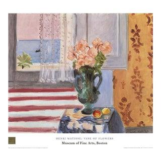 Henri Matisse-Vase of Flowers-1998 Poster For Sale
