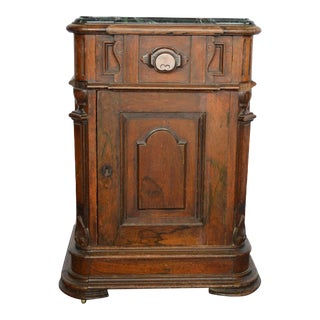 1880s Antique European Cherry Cabinet For Sale
