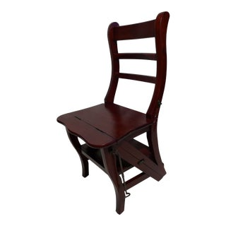 Late 20th Century Metamorphic Step Chair For Sale