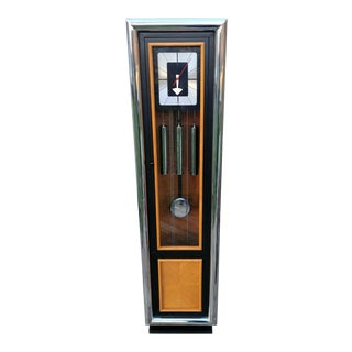 1970s Mid Century Modern George Nelson Howard Miller Grandfather Clock Model 623 For Sale