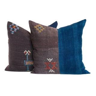 Vintage Sabra Pillow - A Pair