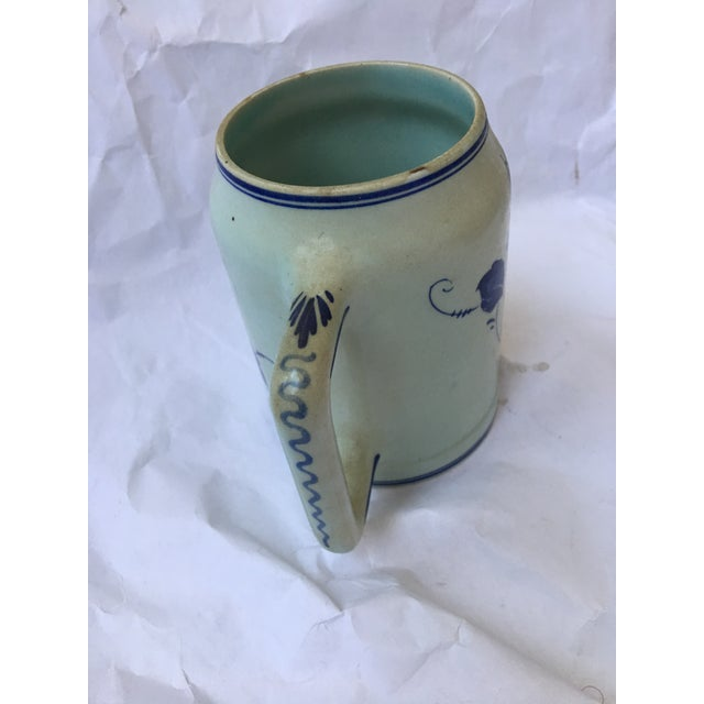 Hand Painted Personalized Delft Mug For Sale - Image 4 of 10