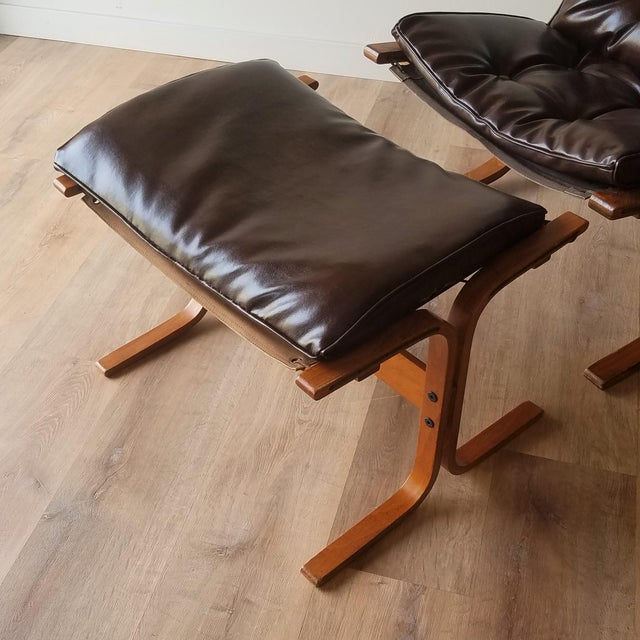 Canvas 1970s Vintage Ingmar Relling Siesta Chairs for Westnofa - 3 Pieces For Sale - Image 7 of 13