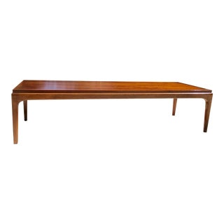 1960s Lane Mid Century Modern Coffee Table For Sale