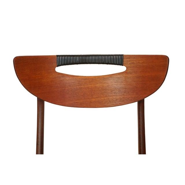 Mid-Century Modern Teak Dining Chairs - Set of 6 - Image 6 of 6
