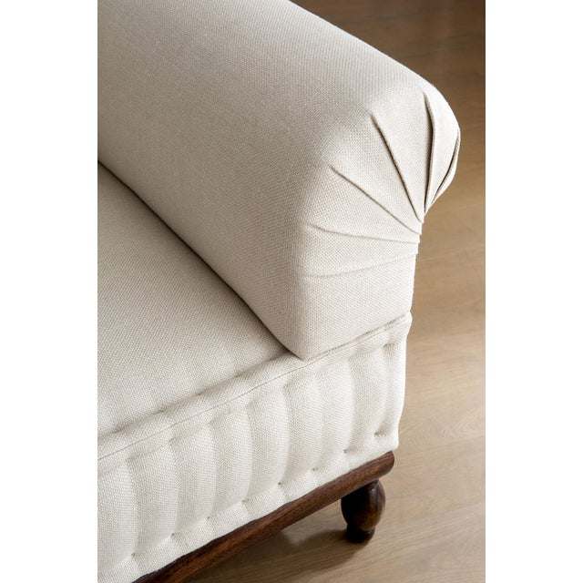 Not Yet Made - Made To Order Brampton - Pleated Sofa For Sale - Image 5 of 8