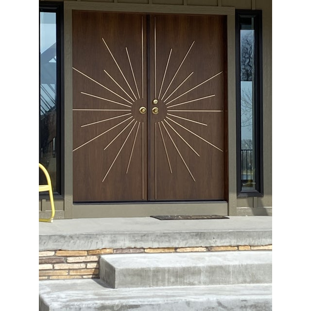 Mid-Century Modern Door for Residences For Sale - Image 10 of 12