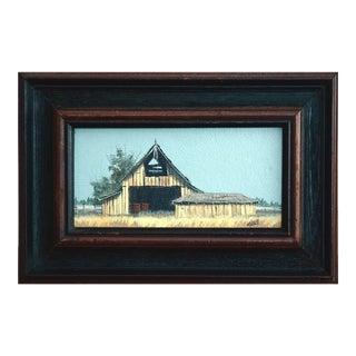 "Mark Geller ""Open Barn"" Painting"