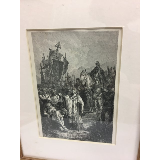Religious 19th Century Book Biblical Story Etching For Sale - Image 3 of 4