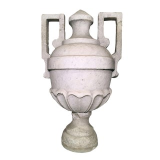 Antique Marble Finial Urn For Sale