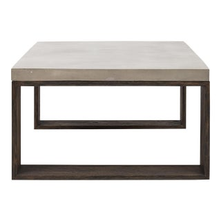 Audrey Coffee Table, Dark Grey For Sale