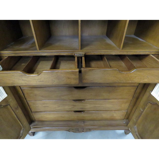 Brown Auffray Country French Armoire For Sale - Image 8 of 9