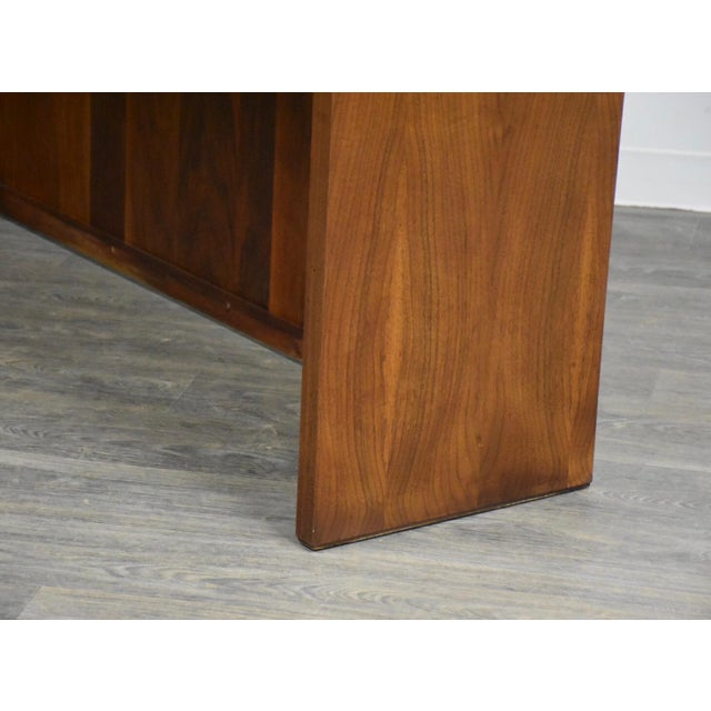 Wood Dillingham Walnut Mid Century Bar For Sale - Image 7 of 11