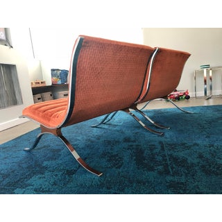 Mid Century Modern Barcelona Style Chairs by Selig- A Pair Preview