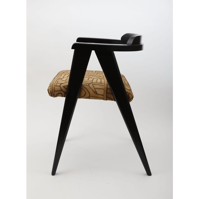 Mid-Century Modern Allan Gould Compass Chair For Sale - Image 3 of 5
