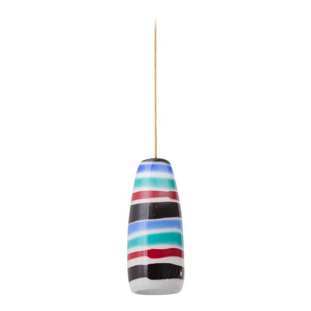 Massimo Vignelli Glass Pendant For Sale
