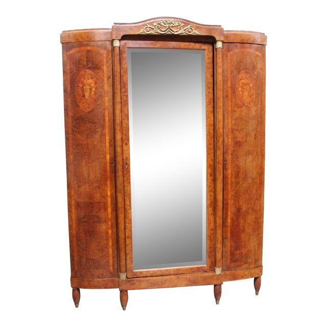 French Late Century Armoire For Sale