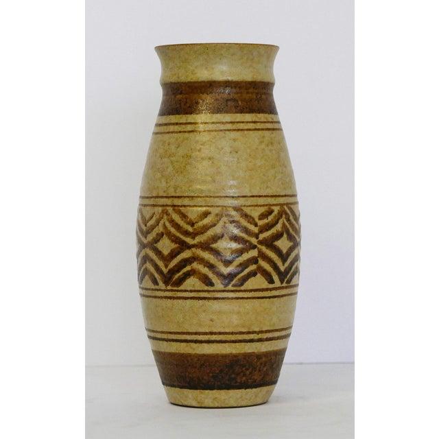 Boho Chic Boho Craft Pottery Vase For Sale - Image 3 of 6