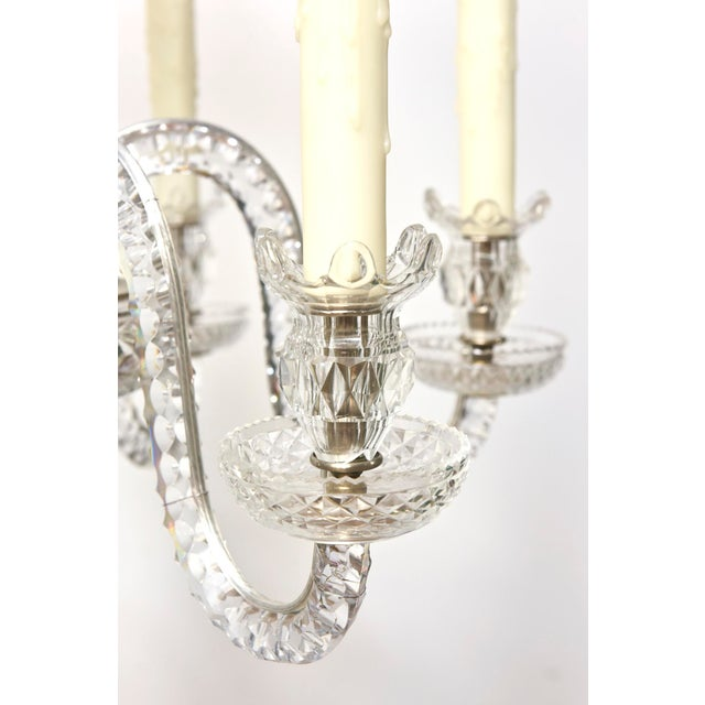 Six Arm Early Waterford Chandelier For Sale In Boston - Image 6 of 9