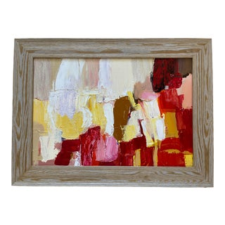 Contemporary Abstract by Rick Griggs Le Jardin Rouge For Sale