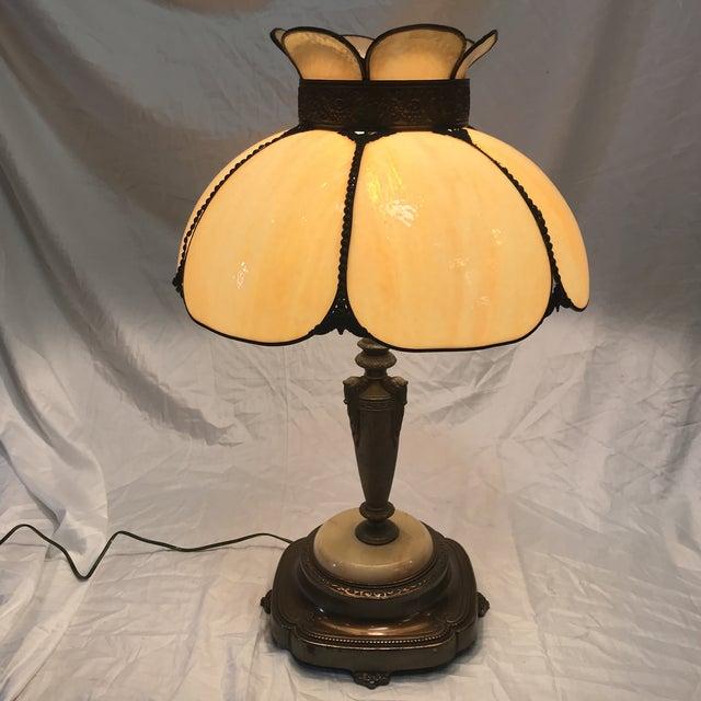 Antique Art Nouveau Table Lamp Chairish