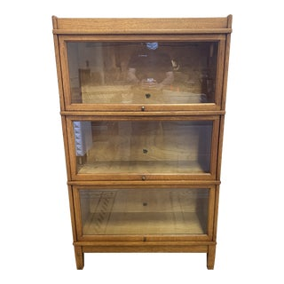 Mid 20th Century Randling & Rand Barrister Bookcase For Sale