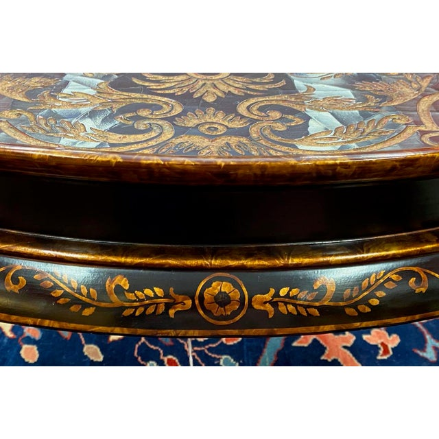 Black Hilda Flack Black Lacquer Coffee Table For Sale - Image 8 of 11