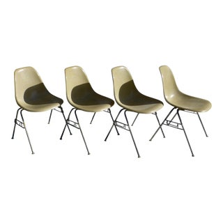Charles Eames for Herman Miller Shell Chairs ~ Set of 4