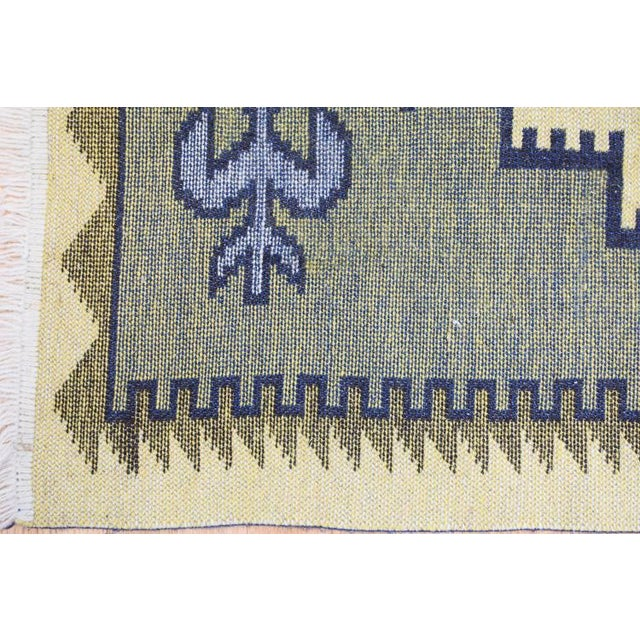 Handmade Vintage Kilim Rug - 4′4″ × 2′6″ For Sale - Image 10 of 13