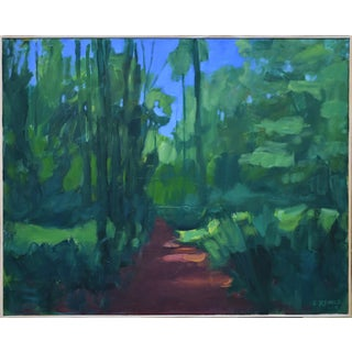 "Stephen Remick ""A Walk in the Woods"" Contemporary Painting For Sale"