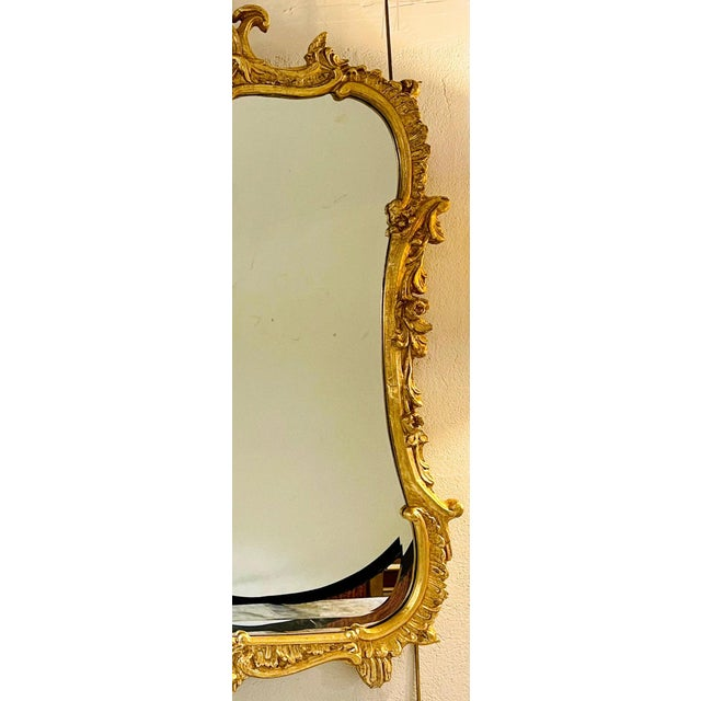 Chippendale Fashioned Console Mirror by Friedman Bros For Sale In New York - Image 6 of 11