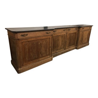 French Provincial Brocante Counter For Sale
