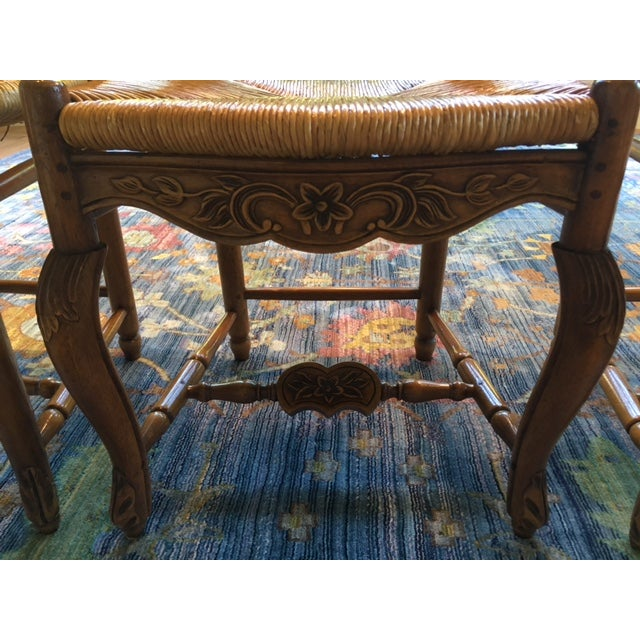 Pierre Deux French Country Dining Chairs - 6 For Sale - Image 4 of 11