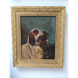 Vintage Hunting Dog Painting #2 Preview
